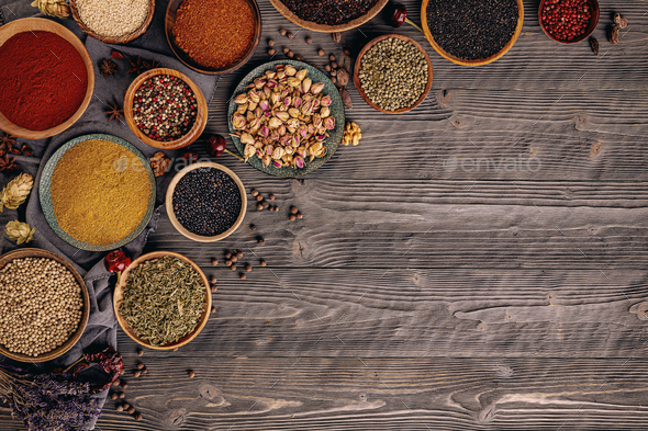 Spices and herbs - Stock Photo - Images