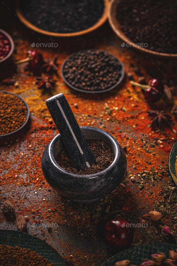 Food and cuisine ingredients - Stock Photo - Images
