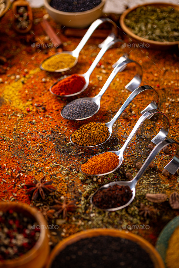 Spicy cooking concept - Stock Photo - Images