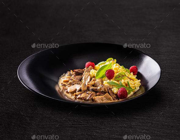 Beef tenderloin stew - Stock Photo - Images