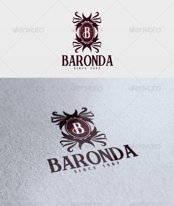 Baronda Logo - Letters Logo Templates