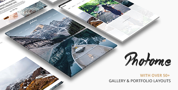 PhotoMe | Portfolio WordPress