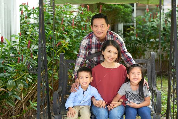 Happy family - Stock Photo - Images