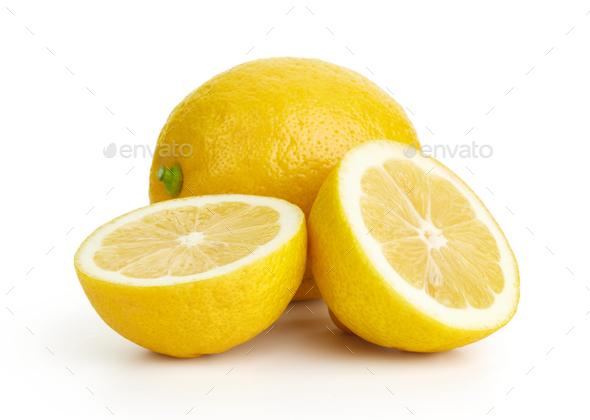 Fresh ripe lemons - Stock Photo - Images