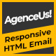 Free Download AgenceUs | Responsive HTML Email Template + Stampready Builder Nulled