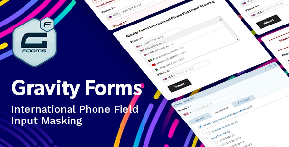 Download Gravity Forms International Phone Field Input Masking Free Nulled