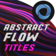 Abstract Flow Titles  l  Colors Lines Flow Titles - VideoHive Item for Sale