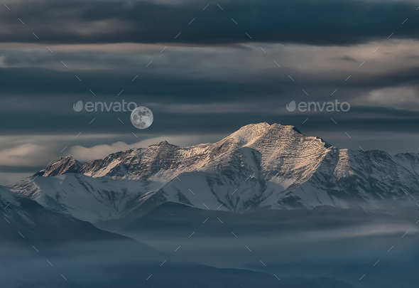Landscape of mountain - Stock Photo - Images