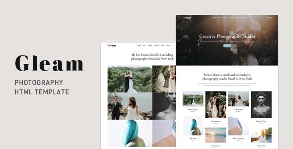 Special Gleam - Portfolio Photography HTML Template
