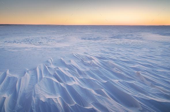 Winter landscape. - Stock Photo - Images