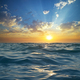 Wave on sunset. Nature composition. - PhotoDune Item for Sale