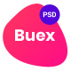 Free Download Buex- Product Landing Page PSD template Nulled