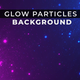 Glow Particles Background - VideoHive Item for Sale