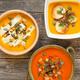 Bowls of pumpkin cream soup - PhotoDune Item for Sale