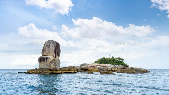 Ko Hin Sorn island in Thailand - Stock Photo - Images