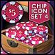 VOKR - Poker Chip Pack 4