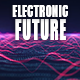 Electronic Futuristic Technology Logo