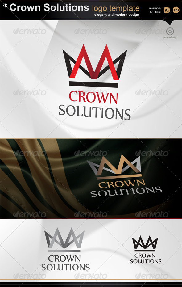 Crown solutions - Logo Templates