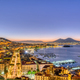Naples in Italy with Mount Vesuvius - PhotoDune Item for Sale