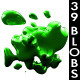 3D Glossy Liquid Blobs - GraphicRiver Item for Sale