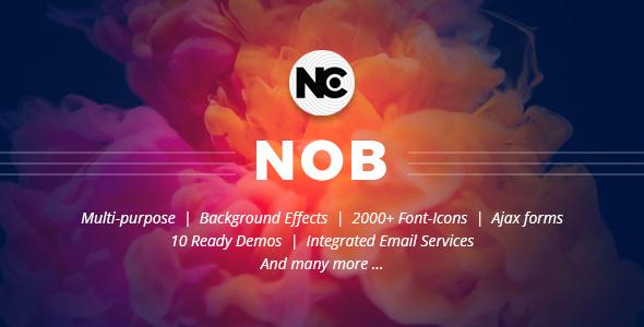 Nob - Creative HTML Template