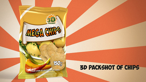 3D Chips Packaging - 3DOcean Item for Sale