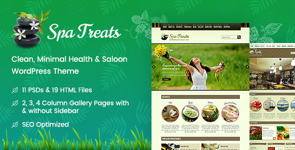 Spa Treats - Health and Wellness WordPress