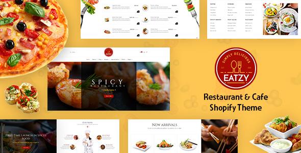 Eatzy | Bakery, Cafe and Cake Shop Shopify Theme
