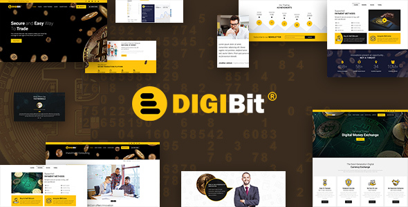 DigiBit - Bitcoin Trading Theme