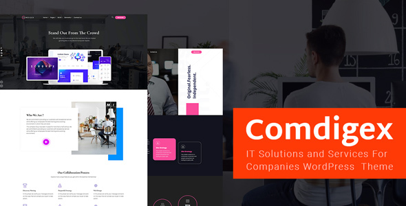 Exceptional Comdigex - IT Solutions and Services Company WP Theme