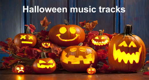 Halloween music tracks