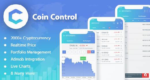 Cryptocurrency Mobile App & Web Template