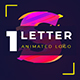 One Letter Animated Logo Collection - VideoHive Item for Sale