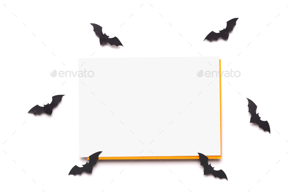 White frame with copy space for advertisement on background - Stock Photo - Images