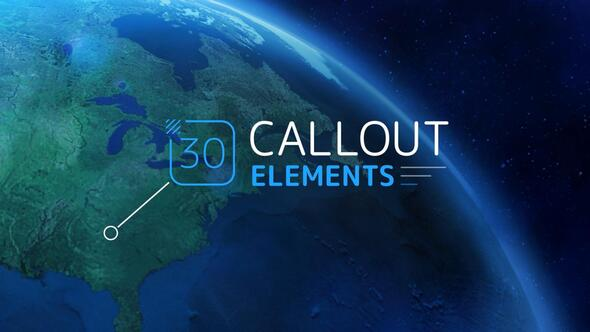Callout Elements Download Free