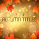 Autumn Titles - VideoHive Item for Sale