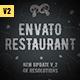 Envato Restaurant/ Cafe Promo/ Modern Bar Menu/ Fast Food/ Vegetarian Dish/ Meal Delivery/ Lunchroom - VideoHive Item for Sale