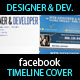 Facebook Timeline Cover - Web Developer & Designer - GraphicRiver Item for Sale
