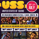 Festival Flyer United States Of Sound - GraphicRiver Item for Sale