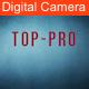Digital Camera Focus & Shutter Sound