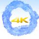Circling Liquid Logo Reveal- 4k - VideoHive Item for Sale