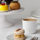 Elegant afternoon tea with macaron - PhotoDune Item for Sale