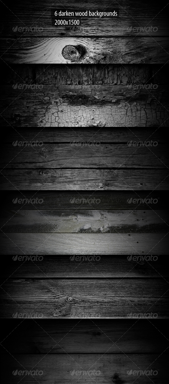 6 Darken Wood Backgrounds - Nature Backgrounds