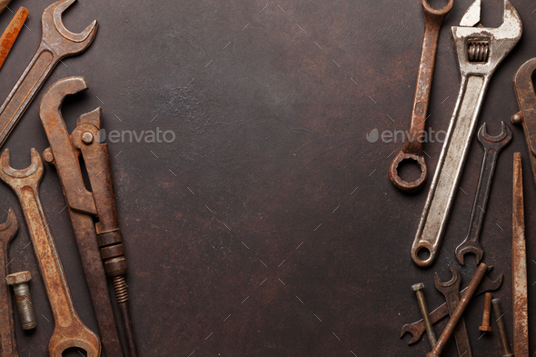 Vintage tools - Stock Photo - Images