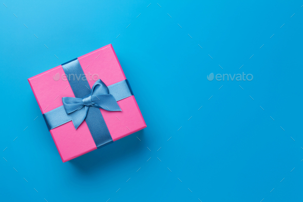 Christmas gift box - Stock Photo - Images