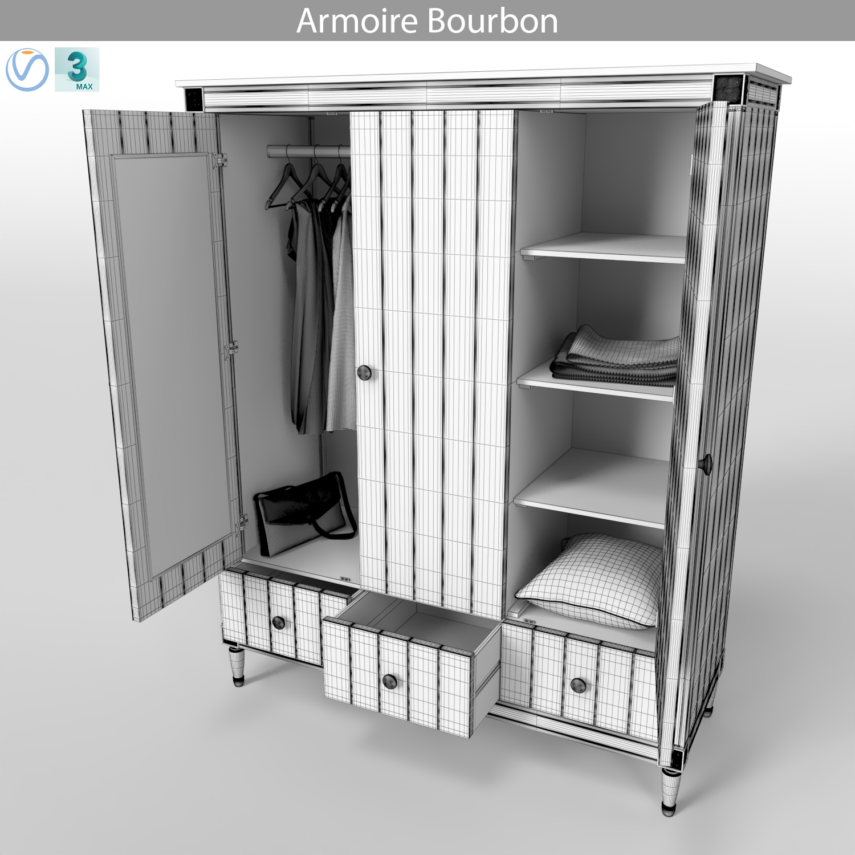 MADE Armoire Bourbon