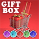 Shopping Cart Gift Box - VideoHive Item for Sale
