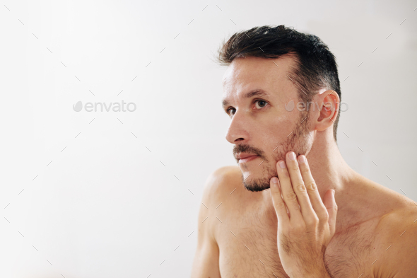 Male beauty concept - Stock Photo - Images