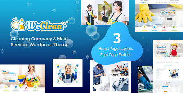 We Clean - Cleaning WordPress