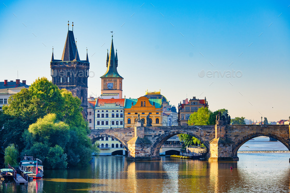 View of Prague - Stock Photo - Images